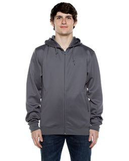 Unisex 9 Oz. Polyester Air Layer Tech Full-Zip Hooded Sweatshirt-Beimar