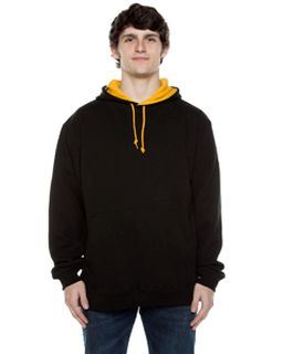 Unisex 10 Oz. 80/20 Poly/Cotton Contrast Hood Sweatshirt-