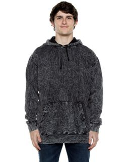 Unisex 8.25 Oz. 80/20 Cotton/Poly Acid Washed Hooded Sweatshirt-