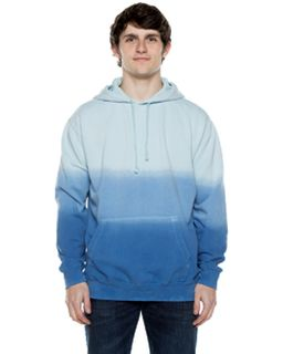 Unisex 8.25 Oz. 80/20 Cotton/Poly Triple Dipped Pigment-Dyed Hooded Sweatshirt-