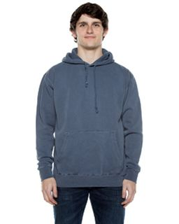 Unisex 8.25 Oz. 80/20 Cotton/Poly Pigment-Dyed Hooded Sweatshirt-Beimar