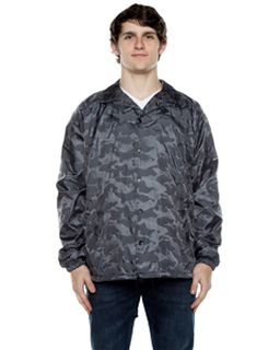 Unisex Nylon 3-Dimensional Coaches Jacket-