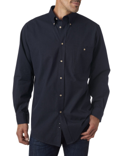 Mens Nailhead Long-Sleeve Woven Shirt-