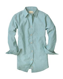 Ladies Classic Chambray Long-Sleeve Shirt-