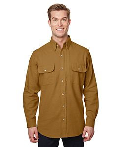 Mens solid Chamois Shirt-