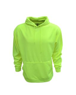 Adult Performance Pullover Hood With Bonded Polar Fleece-