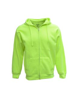 Adult Full-Zip Fleece Hood-Bright Shield