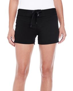 Ladies Dobby Stretch Board Short-