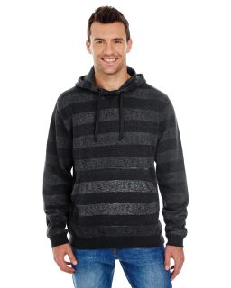 Mens Printed Stripe Marl Pullover-Burnside