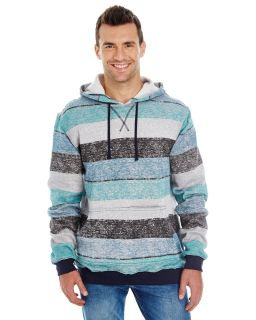Mens Printed Stripe Marl Pullover-