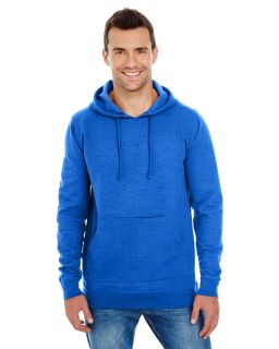 Mens Injected Slub Yarn-Dyed Fleece Hoodie-Burnside