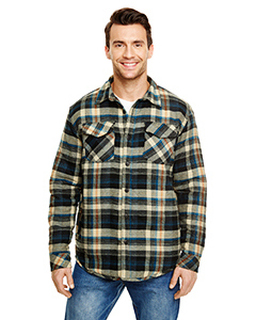 Adult Quilted Flannel Jacket-