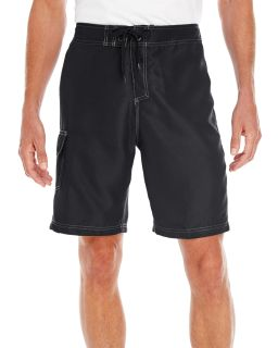 Mens Solid Board Short-Burnside