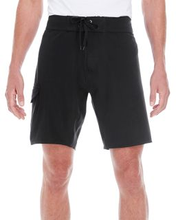 Mens Dobby Stretch Board Short-Burnside