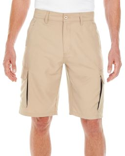 Mens Microfiber Cargo Short-Burnside