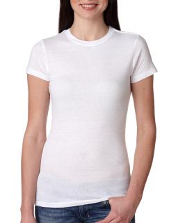Ladies 4.2 Oz., 100% Ring-Spun Cotton Jersey T-Shirt-Bayside