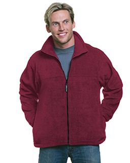 Unisex Full-Zip Polar Fleece Jacket-Bayside