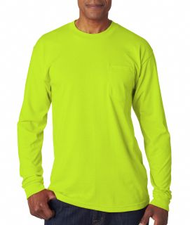 Adult Long-Sleeve T-Shirt With Pocket-