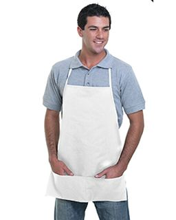 65/35 Poly/Cotton Medium Bib Apron-