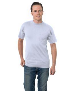 Adult 6.1 Oz., Cotton Pocket T-Shirt-