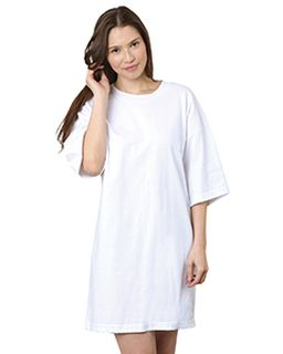 Laidies 6.1 Oz., 100% Cotton Dorm Gown-