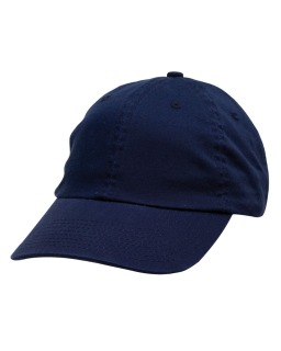 100% Washed Chino Cotton Twill Unstructured Cap-Bayside