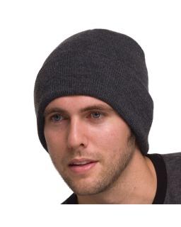 100% Acrylic Knit Cuff Beanie-Bayside