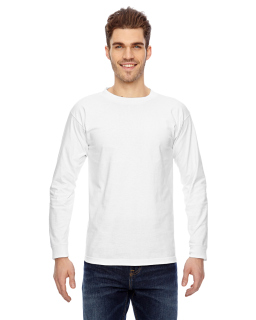 Adult 6.1 Oz., 100% Cotton Long Sleeve T-Shirt-Bayside