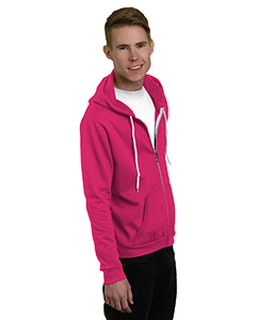 Unisex 7 Oz., 50/50 Full-Zip Fashion Hooded Sweatshirt-Bayside
