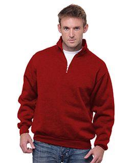 Unisex 9.5 Oz., 80/20 Quarter-Zip Pullover Sweatshirt-