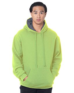 Adult Super Heavy Thermal-Lined Hooded Sweatshirt-Bayside