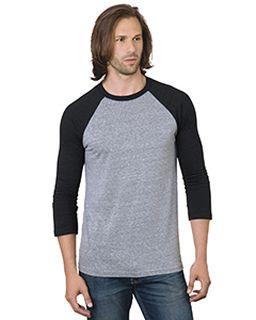 Unisex 4.2 Oz., Triblend 3/4-Sleeve Raglan T-Shirt-Bayside