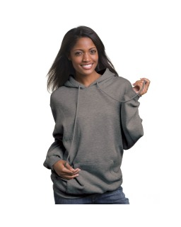 Adult Hooded Pullover Fleece-Bayside