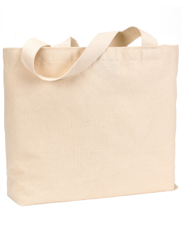 12 Oz., Cotton Canvas Jumbo Tote-