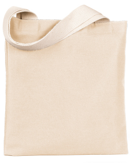 7 Oz., Poly/Cotton Promotional Tote-Bayside