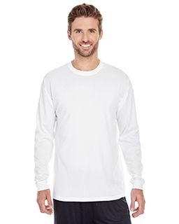 Mens 100% Poly Performance Long-Sleeve T-Shirt