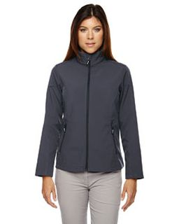 Ladies Cruise Two-Layer Fleece Bonded Soft shell Jacket-Ash City - Core 365