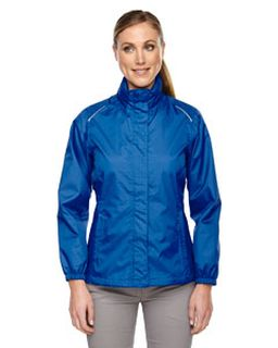 Ladies Climate Seam-Sealed Lightweight Variegated Ripstop Jacket-Ash City - Core 365