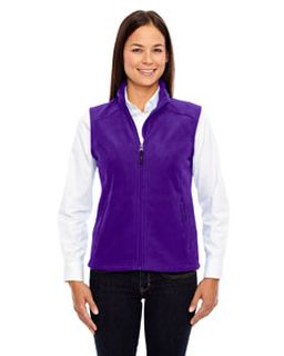 Ladies Journey Fleece Vest-Ash City - Core 365