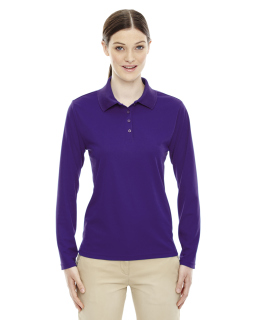 Ladies Pinnacle Performance Long-Sleeve Pique Polo