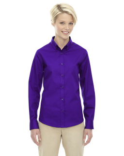 Ladies Operate Long-Sleeve Twill Shirt
