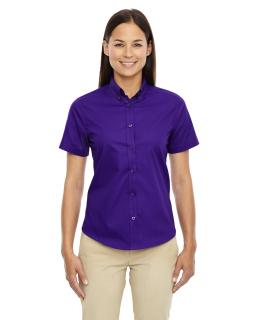 Ladies Optimum Short-Sleeve Twill Shirt