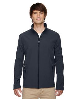 Mens Cruise Two-Layer Fleece Bonded Soft shell Jacket-Ash City - Core 365