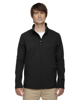 Mens Tall Cruise Two-Layer Fleece Bonded Soft Shell Jacket