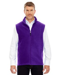 Mens Journey Fleece vest-Ash City - Core 365