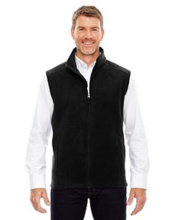 Mens Tall Journey Fleece Vest-Ash City - Core 365