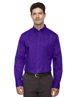 Mens Operate Long-Sleeve Twill Shirt