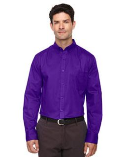 Mens Operate Long-Sleeve Twill shirt-Ash City - Core 365
