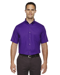 Mens Optimum Short-Sleeve Twill Shirt