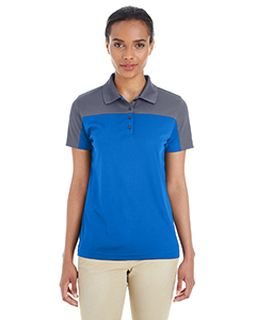 Ladies Balance Colorblock Performance Pique Polo-Ash City - Core 365